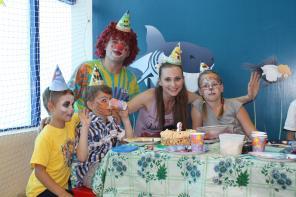 Детский праздник с весёлыми клоунами