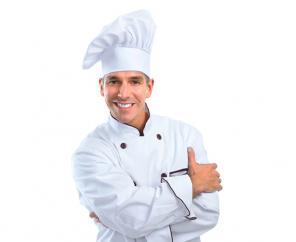 Повар и официант на Праздник