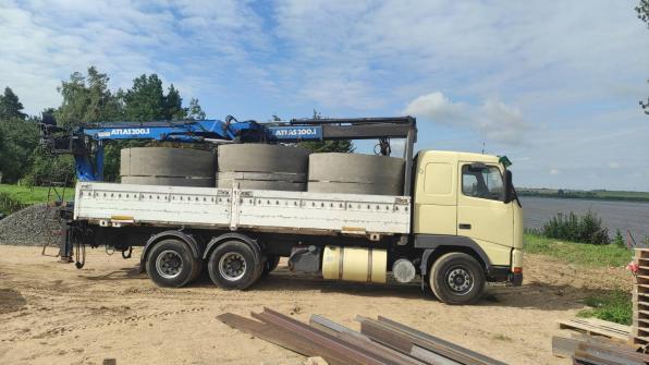 Услуги манипулятора для доставки любых строительных материалов