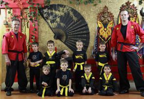 Школа Тайпин - ушу для детей 4-6 лет на Волгоградской