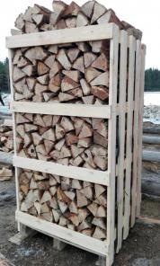 Продаю свежие колотые дрова: дубовые, берёзовые, хвойные (ель/сосна)