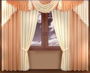 Великолепные легкие шторы для спальни и зала Надин вуаль. Дешево