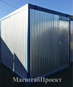 Аренда - строительная бытовка (блок-контейнер 6000х2400х2500)