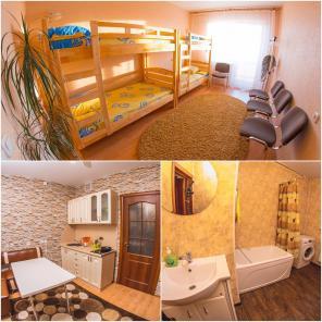 Койко места в Минске, как хостел. Уборка ежедневная, сейф, метро.