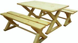 Наборы мебели из хвойных пород древесины, не дорогие.