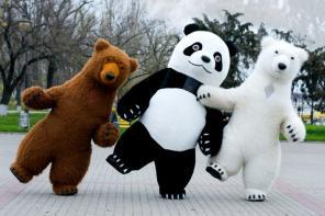 Большие Медведи Панда на ваш праздник