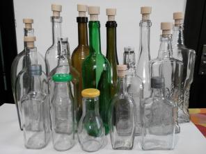 Продам стеклобутылку обработанную ультразвуком.