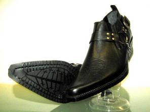 Туфли казаки Etor кожаные. Настоящий стиль.