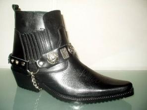 Зимние ботинки Казаки Etor кожаные. Стиль.