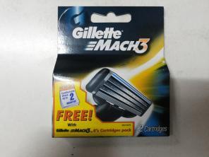 Картриджи Gillette Mach3 оригинал 8+2 (Индия)