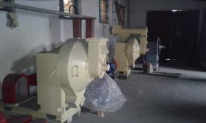 Устаткування для виробництва пелет (гранул) з біомаси