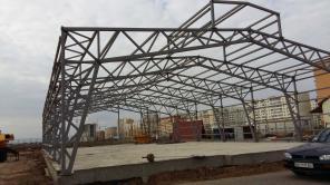 Строительство складов и промышленных помещений