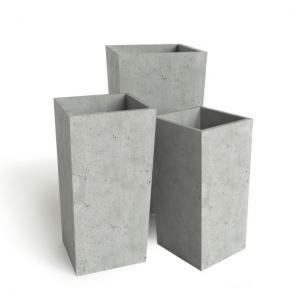 Вазоны из искусственного (акрилового) камня.