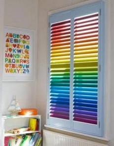 Горизонтальные жалюзи-классика декора окна