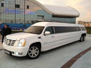 Прокат лимузина Cadillac Escalade на 25 персон в Караганде