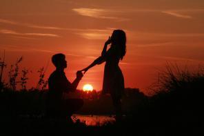 Предложение руки и сердца=сделай этот день не таким, как у всех!звони