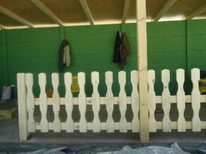 Качественная покраска заборов, ворот, работа по дереву, обшивка бань.