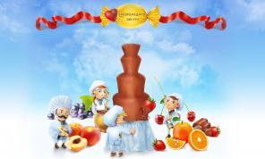Шоколадный фонтан в Павлодаре аренда