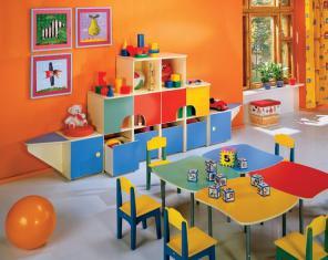 Изготовление мебели для детского сада