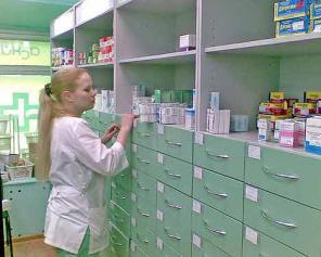 Изготовление мебели для аптеки на заказ