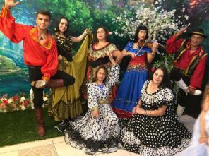 Цыганский ансамбль и шоу