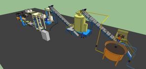 Диспергатор ДС-3000 для производства органических удобрений