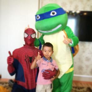 Проведение детских праздников в Астане
