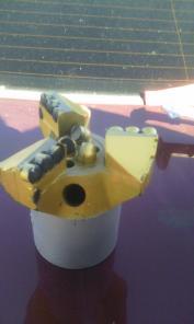 Долото 152 мм, 200 мм, BIT, PDC, алмазное, БИТ, бит, ПДС