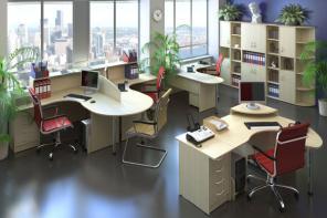 Изготовление мебели для офиса на заказ