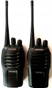 Две компактных радиостанции KENWOOD TK-666