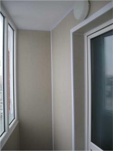 Утепление и отделка балкона, лоджии в Астане
