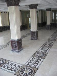 Мозаичное панно из камня