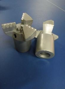 Долото 3-х лопастное 132 мм, 161 мм БИТ, армированное PDC резцами