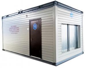 Сборка контейнера Алматы (индивидуальный контейнер для генератора)