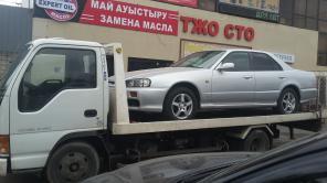 Услуги эвакуатора Алматы