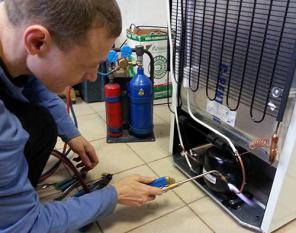 Ремонт холодильников на дому клиента и заправка авто-кондиционеров
