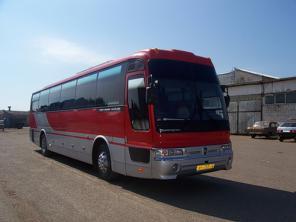 Аренда и заказ автобусов 18-50 мест недорого в Уфе, в ХМАО и Тобольске
