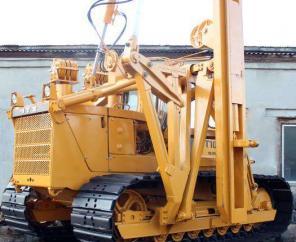 Продаем сваебой СП-49Д на базе болотоходного трактора Т-10МБ 2014 г/в.