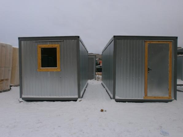 Производство и продажа блок-контейнеров, деревянных бытовок.