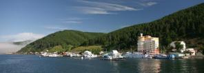 Отдых в п. Листвянка на Байкале