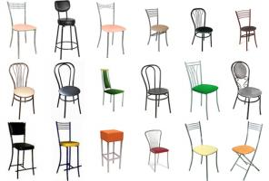 Барные и другие стулья.