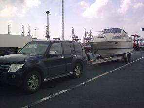 Транспортировка катеров, яхт.