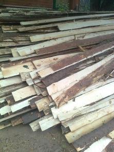 Горбыль продаю крупный на дрова с доставкой
