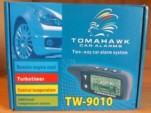 Сигнализация TOMAHAWK TW9010,  запуск