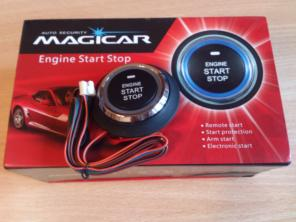 Кнопка Engine Start/Stop. Magicar.