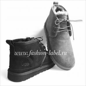 Купить мужские ботинки, мокасины UGG, натуральный мех