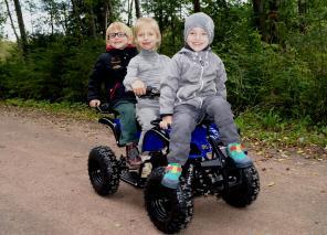Детские квадроциклы с качеством на совесть и ценами на зависть!