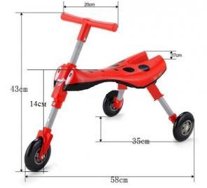 Складная Каталка (беговел) Scooter Bug