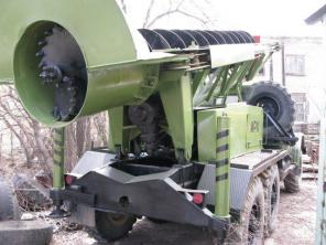 Мобильная роторная установка для добычи полезных ископаемых