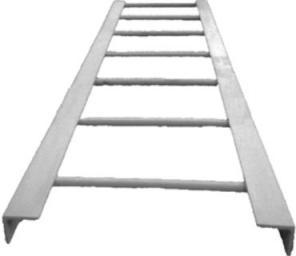 Стальные канализационные лестницы-стремянки для спуска в колодцы